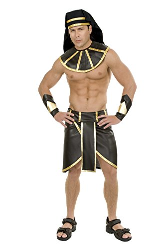Charades Men's Pharaoh, Black/Gold, Small ()