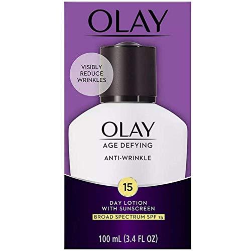 OLAY Age Defying Anti-Wrinkle Day Lotion SPF 15, 3.4 oz ()