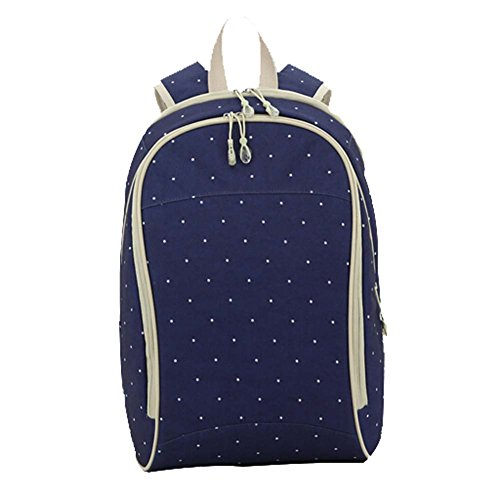 Multifunción Gran Capacidad del bebé pañales Nappy Bolsa Momia mochila azul oscuro Talla:32cm x 45cm x 21cm azul oscuro