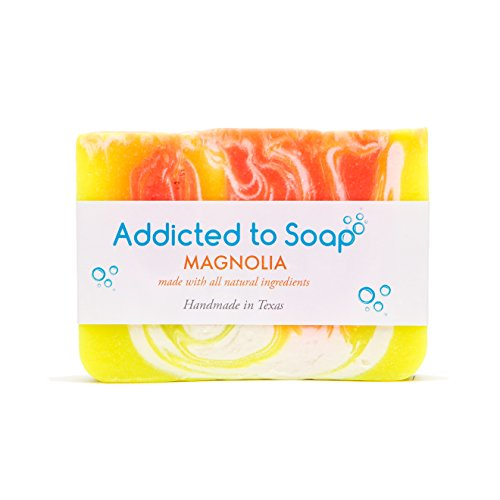 Addicted to Soap – Magnolia Soap | Specially Formulated – All Natural Ingredients for Perfectly Clean Skin and a Beautifully Refreshing Scent - Handmade with Love in Texas