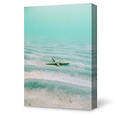 Magnificent Piece, Starfish on Ocean Painting Wall for Bedroom Living Room, With a Professional Touch