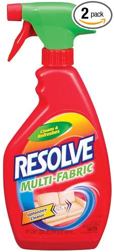 Resolve Upholstery Cleaner U0026 Stain Remover, 44 Oz (2 Cans X 22 Oz)
