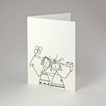 Hochzeitskarte Fur Frauen Klappkarten Mit Rotem Umschlag Fur