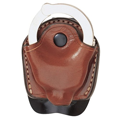 Series Handcuffs (Aker Leather 607 D.M.S. (Dual Mounting Series) Handcuff Case, Tan, Fits Standard Chain Handcuffs)