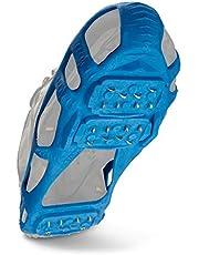 Stabiele Walk Traction Ice wig en loopvlak voor sneeuw, ijs, leggen, schoenen/laarzen voor de dagelijkse veiligheid in de winter, outdoor, glibberig terrein.