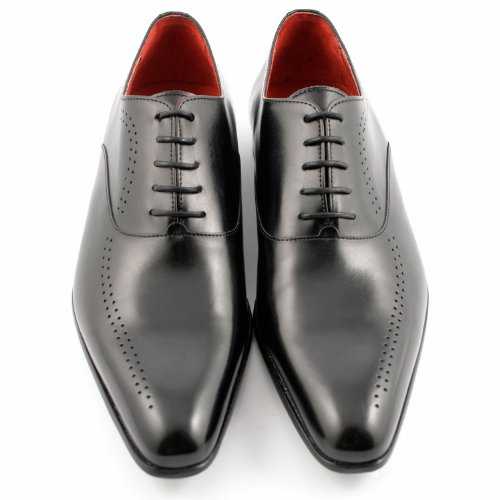Exclusif Paris Verdict Cuir Marron, Chaussures de ville homme Cuir Marron Taille 43