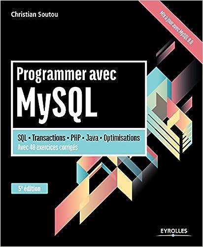 Livre Programmer avec MySQL