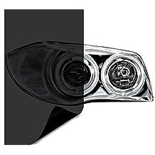 "VViViD Dark Black Headlight Taillight Tint Air-Release Vinyl Wrap Film Roll (1.49ft x 60"")"