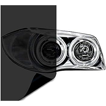VViViD Air-Tint Dark Black Headlight/Tail Light Window Tint (60 Inch x 60 Inch Extra-Large roll)
