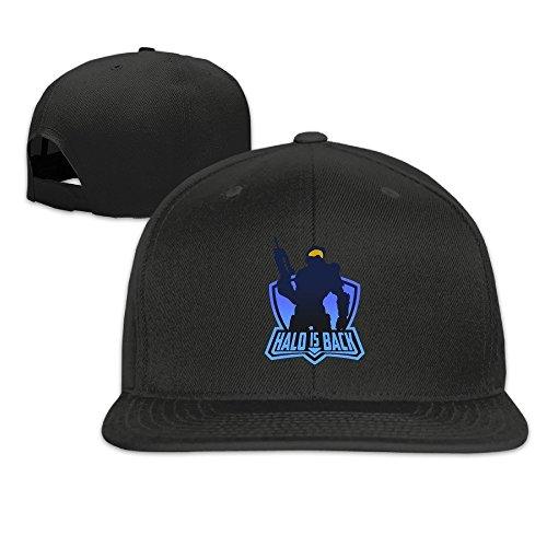 MaNeg Halo Is Back Unisex Fashion Cool Adjustable Snapback Baseball Cap Hat One - Shop Ms Pro Bass
