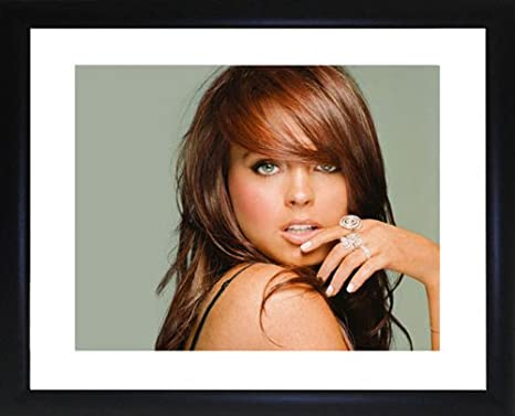 Lindsay Lohan Framed Photo