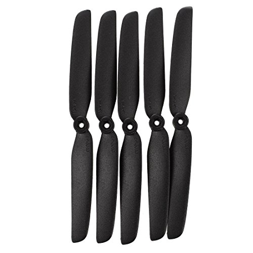 SODIAL(R) 5 x Electric RC Plane Gray Propellers Props 2 Blade 152x76mm 6x3 6030
