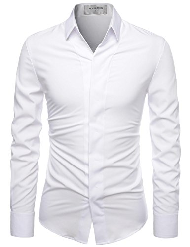 3xl white dress shirt - 6