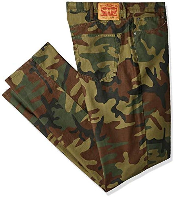 Levi's Męskie spodnie Big & Tall 541 Athletic Fit Pant na czas wolny: Odzież