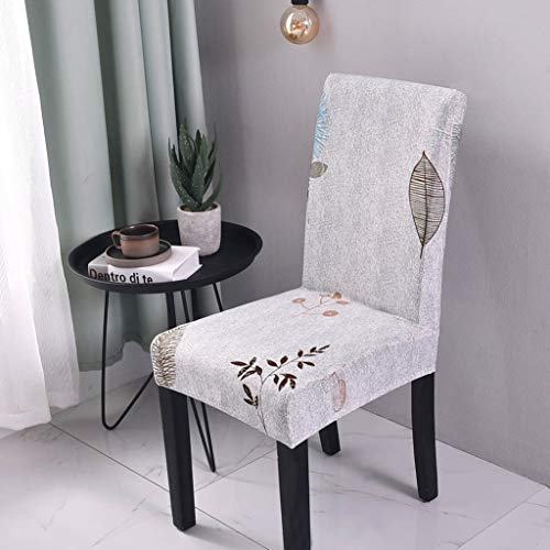 Price comparison product image Drew Toby Chair Cover Kitchen Dining Slipcover Removable Washable Stretch Anti-Dust Spandex Seat Covers