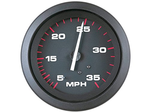 (Sierra International 58342Ph Amega Domed Pitot Type 5 to 35 Mph Range Speedometer Head, 3