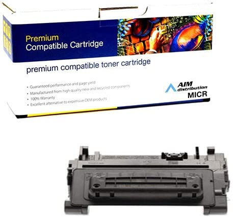 Black Inksters Remanufactured Toner Cartridge Replacement for HP 90A MICR CE390A MICR for Laserjet Enterprise 600 M601N M601DN M602DN M602N M602X M603DN M603N 02-81350-001