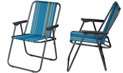 Klappsessel - Gartenstuhl - einfach zusammenklappbar - praktischer Klappstuhl