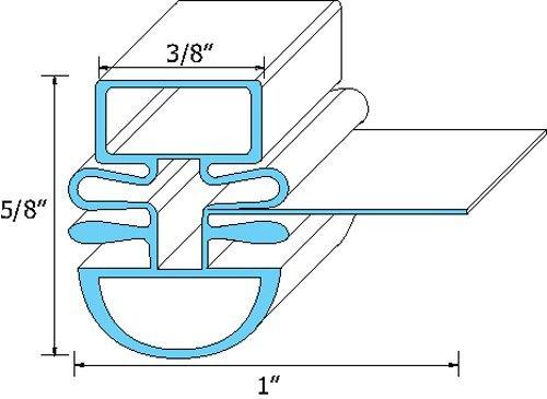 Turbo Air Door Gasket R3903-570