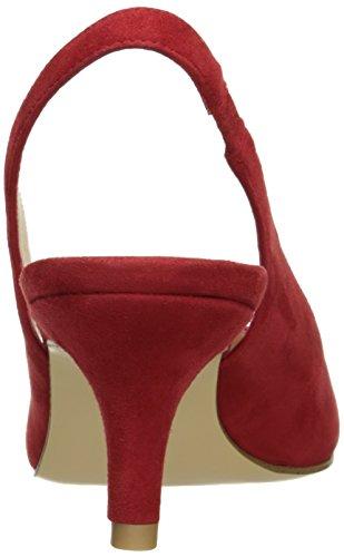 Moda Rojo Mujer Tacón Belini para su Pelle ARwdq0ZA