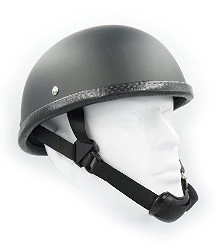 - Hot Rides Classic Chopper Biker Motorcycle Helmet Novelty For Cruiser Harley Scooter ATV Eagle Flat Black (X-Large)