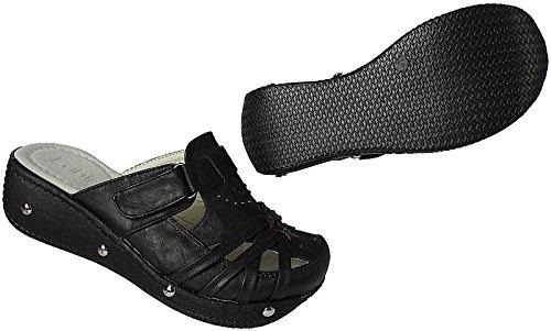 super popular da214 fb87f Clogs Damen Sabot Schuhe Sandalette Pantolette Gr36 41 ...