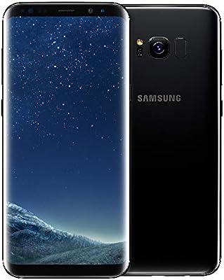 Samsung Galaxy S8 Plus, Smartphone libre (6.2, 4GB RAM, 64GB, 12MP) [Versión Francesa: No incluye Samsung Pay ni acceso a promociones Samsung Members], color Negro: Amazon.es: Electrónica