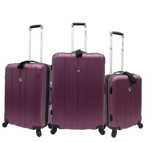 travelers-choice-cambridge-hardside-lightweight-spinner-luggage-set-plum-20-inch-24-inch-and-28-inch
