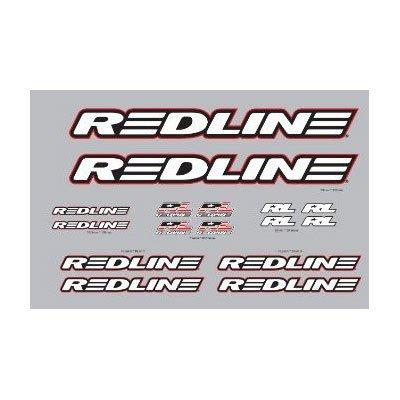 REDLINE Complete BMX Frame Decal Set -