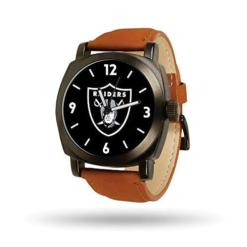 Mens Sport Nfl Watch (Gifts Watches NFL Oakland Raiders Knight Watch by Rico Industries)