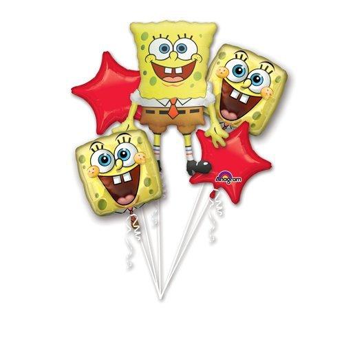 Spongebob 5 pc. Foil Balloon Bouquet