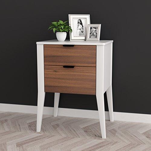 Bedroom Wood Finish Side Table - 2