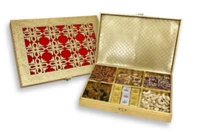 sukhadia dulces de la India de la caja, Royal Rojo & Naranja ...