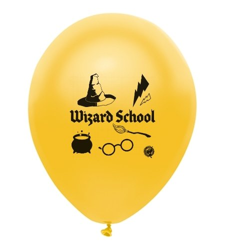 Harry Potter Party Themed Wizard School Theme Latex Balloons 18 Count Made in USA by guarateeing100percentnow (Image #1)