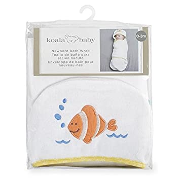 Amazon.com : Koala Baby Newborn Bath Wrap : Baby