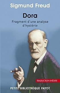 Dora : Fragment d'une analyse d'hystérie par Freud