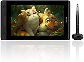 Huion Kamvas Pro 13 Mobile Pen Display 13.3 Inch Battery-Free Drawing Tablet 8192 Levels with Tilt Function 4 Express...