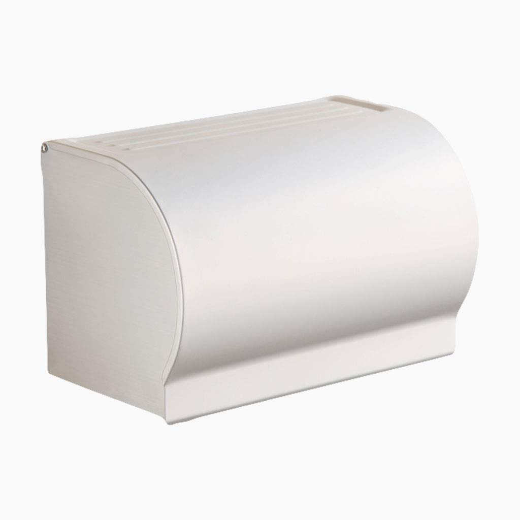 Tissue Box MAHONGQING Space Aluminum Toilet Creative Roller Waterproof Shelf Drilling Installation (Size : B)