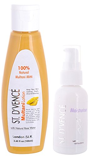 41TZ1dEgLeL - ST.D'VENCÉ Multani Mitti Lotion with Natural Rose Water - 100 ml for Rs 99 (53% Off)