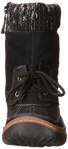 Merrell Decora Bolero - Botas de nieve de cuero mujer negro - negro