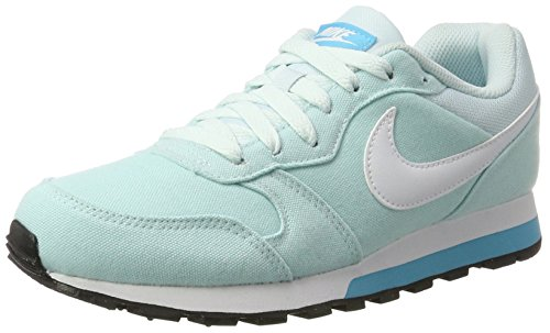 blanc Zapatillas Mujer Glacier Nike Md bleu 2 bleu Azul Chlorine Wmns Runner Para Fwx4qAxvRn