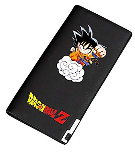 Sintetica Dragon Borsellino Pelle Sottile Uomo Cosstars 22 Portamonete Anime Slim Ball Wallet Piccolo In Nero Portafoglio 1 fxq4B