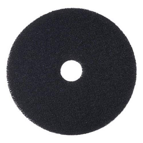 "Boardwalk 4020BLA Standard Floor Pads, 20"" Diameter, Black, (Case of 5)"