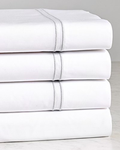 Notte by Bellino 200Tc Percale Sheet Set, Queen ()