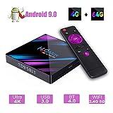 H96 MAX Android 9.0 TV Box 4GB 64GB EstgoSZ Android Box USB 3.0 BT4.0 2.4G 5G Dual WiFi 3D 4K H.265 KD18.1 Smart Android TV Box