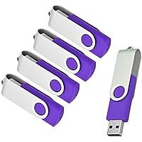 OVANUS 16 GB USB 2.0 Flash Drive, Pack of 5, Thumb Drives...