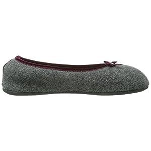 Giesswein – Hohenau, Pantofole  a casa da donna, Grigio (Ardesia 017), 40 EU