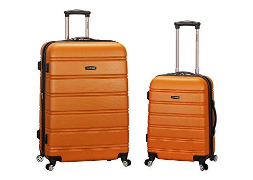 Rockland Luggage 20 Inch 28 Inch 2 Piece Expandable Spinner Set Plus,...