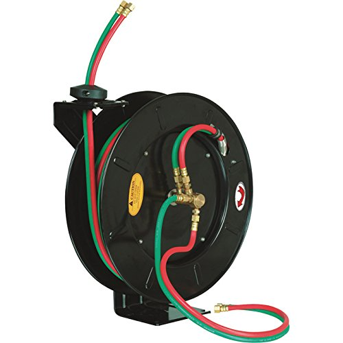 ReelWorks Oxy/Acetylene Hose Reel - 300 PSI with 50ft. Hose by ReelWorks