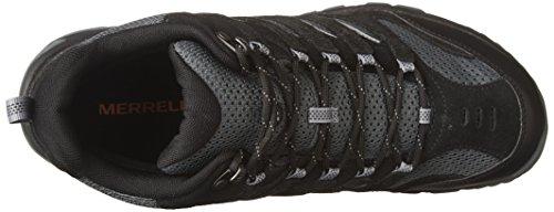 Maille Merrell Hommes 5 pin Imperméable Noir 6 Tailles Randonneurs Gris en Mi UK avec 12 et Ventilations Tige Blanc Daim 77Uwr